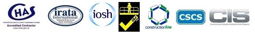 CHAS | IRATA | IOSH | IPAF | Constructionline | CSCS | CIS