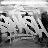 acid etched graffiti